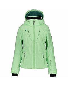 Obermeyer Leia Jacket Girl's- Neo Mint