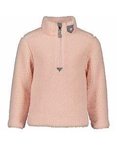 Obermeyer Superior Gear Zip Top Girl's- Pink Sand