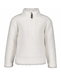 Obermeyer Superior Gear Zip Top Girl's- White