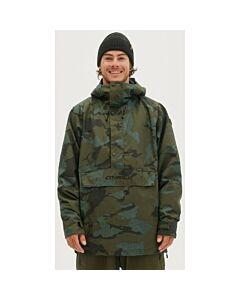 O'neill Original Anorak Jacket Men's- Green AOP Camo