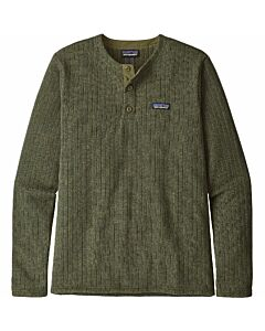 Patagonia Better Sweater Henly Men's- Industrial Green Rib Knit