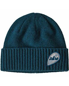 Patagonia Brodeo Beanie- Tube View: Crater Blue