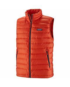 Patagonia Down Sweater Vest Men's- Hot Ember