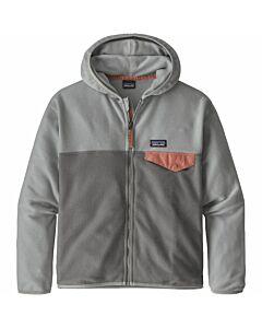 Patagonia Micro D Snap-T Jacket Girl's- Noble Grey
