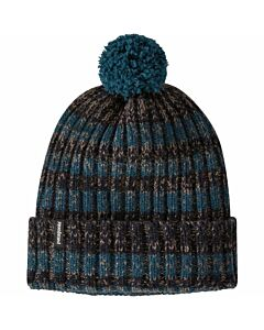 Patagonia Wool Pom Beanie- Crater Blue