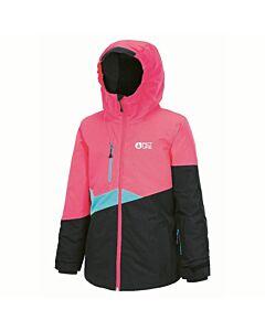 Picture Naika Jacket Girl's- Neon Pink Black