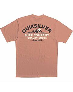 Quiksilver Escape Timing Tee Men's- Canyon Sunet