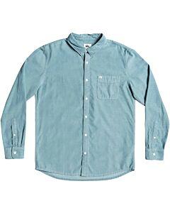Quiksilver Smoke Trail Shirt Men's- Citadel Blue