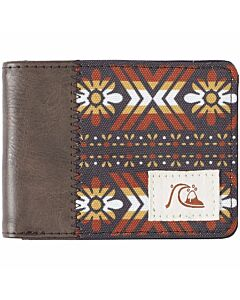 Quiksilver The Fresh Life Wallet- Turkish Coffee