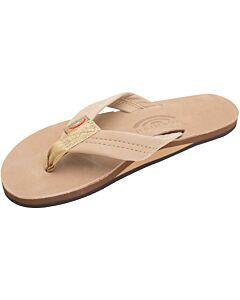 Rainbow Leather Single Layer Sandal Women's- Sierra