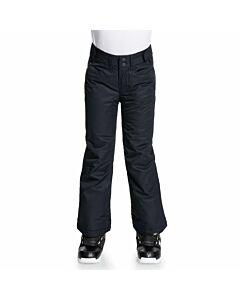 Roxy Backyard Pant Girl's- Anthracite Black