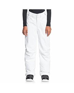 Roxy Backyard Pant Girl's- Bright White