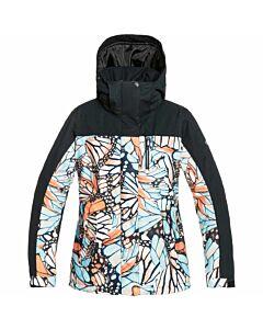 Roxy Jetty Block Jacket Women's- Stone Blue