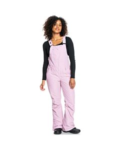 Roxy Rideout Bib Overall Women's- Dawn Pink
