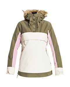 Roxy Shelter Jacket Women's- Burnt Olive