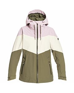 Roxy Winter Haven Jacket Women's- Burnt Olive