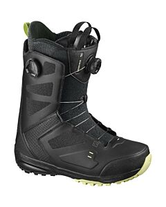 Salomon Dialogue Dual Boa Snowboard Boot- Black