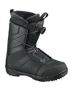 Salomon Faction Boa Snowboard Boot- Black/ Red Orange