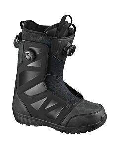 Salomon Launch Boa Str8jkt Snowboard Boot- Black