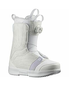 Salomon Pearl Boa Boot Women's- White/ Lunar Rock