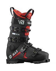 Salomon S Max 100 GW Boot Women's- Black/Red/ White