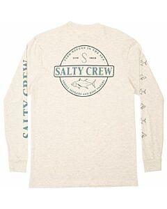 Salty Crew Deep Sea Premium L/S Tee Men's- Oatmeal