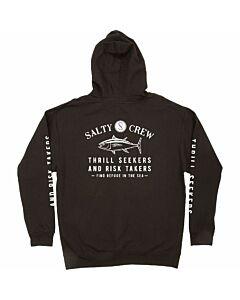 Salty Crew Fishmonger Fleece Hoodie Men's- Black