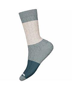 Smartwool Everyday Colorblock Sock Women's- Dark Prussian Blue