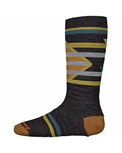 Smartwool Ski Racer Sock Kid's- Charcoal