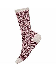 Smartwool Traditional Snowflake Sock Women's- Moonbean