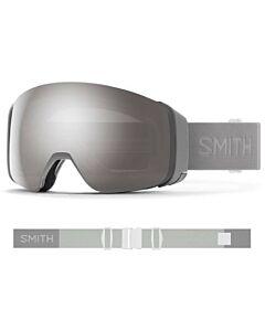 Smith 4D Mag Goggle- Cloudgrey w/ Chromapop Sun Platinum + Storm Rose