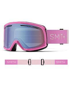 Smith Drift Goggle- Flamingo w/ Blue Sensor Mirror
