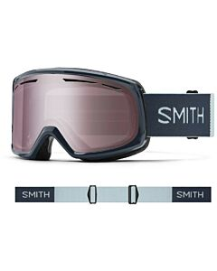 Smith Drift Goggle- French Navy w/ Ignitor Mirror