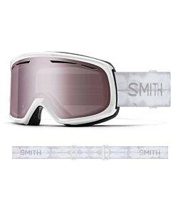 Smith Drift Goggle- White Shibori Dye w/ Blue Sensor Mirror