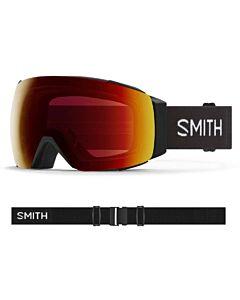 Smith I/O Mag Goggle- Black w/ Chromapop Sun Red + Storm