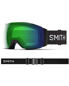 Smith I/O Mag XL Goggle- Black w/ Chromapop Everyday Green + Storm