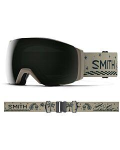 Smith I/O Mag XL Goggle- Limestone Vibe w/ Chromapop Sun Black + Storm Rose