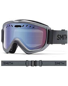 Smith Knowledge OTG Goggle- Graphite w/ Blue Sensor Mirror