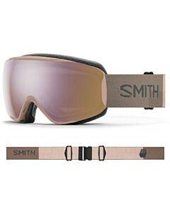 Smith Moment Goggle- Quartz Landscape w/ Chromapop Storm Rose Flash
