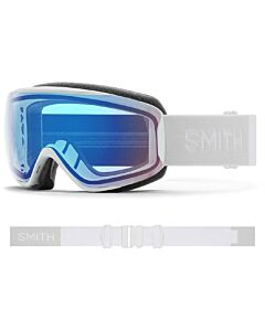 Smith Moment Goggle- White Vapor w/ Chromapop Storm Rose Flash