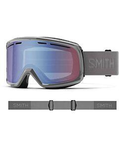 Smith Range Goggle- Charcoal w/ Blue Senor Mirror