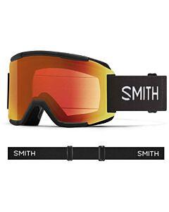 Smith Squad Goggle- Black w/ Chromapop Everyday Red + Yellow
