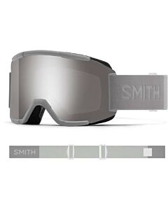 Smith Squad Goggle- Cloudgrey w/ Chromapop Sun Platinum + Storm Yellow