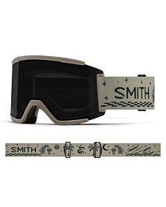 Smith Squad XL Goggle- Limestone Vibes w/ Chromapop Sun Black + Storm Rose