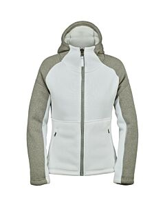 Spyder Alps Fullzip Fleece Jacket Women's- White