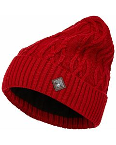 Spyder Cable Knit Beanie- Pulse