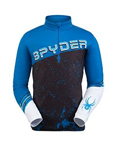 Spyder Mandate 1/2 Zip Men's- Blue Old Glory