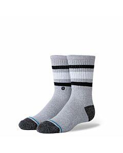 Stance Boyd Stripe Sock Youth- Heather Grey