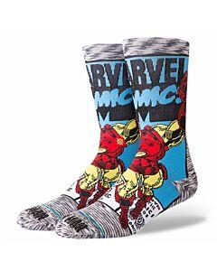 Stance Iron Man Comic Sock- Grey