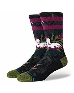 Stance San Tropic Sock- Black